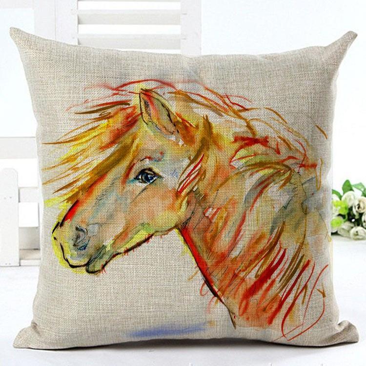 Kuddfodral - Djur - Häst 13