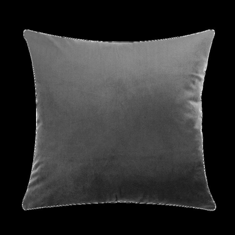 Kuddfodral - Sammet - Silver