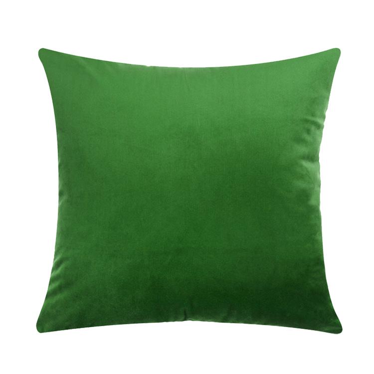Kuddfodral - Sammet - Grön