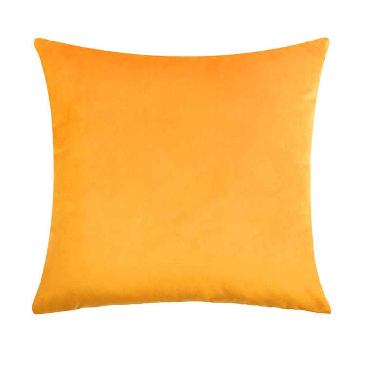 Kuddfodral - Sammet - Orange