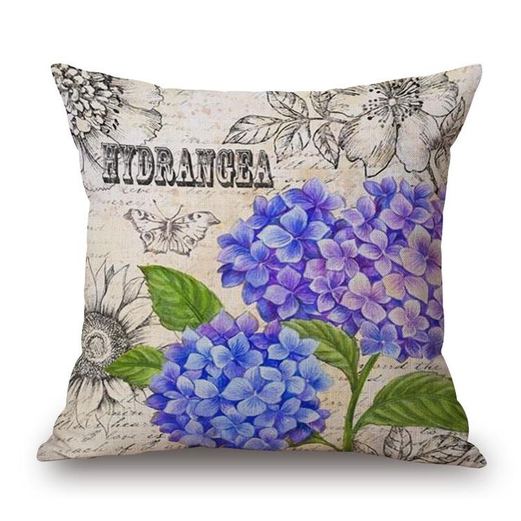 Kuddfodral - Natur - Blommor 397