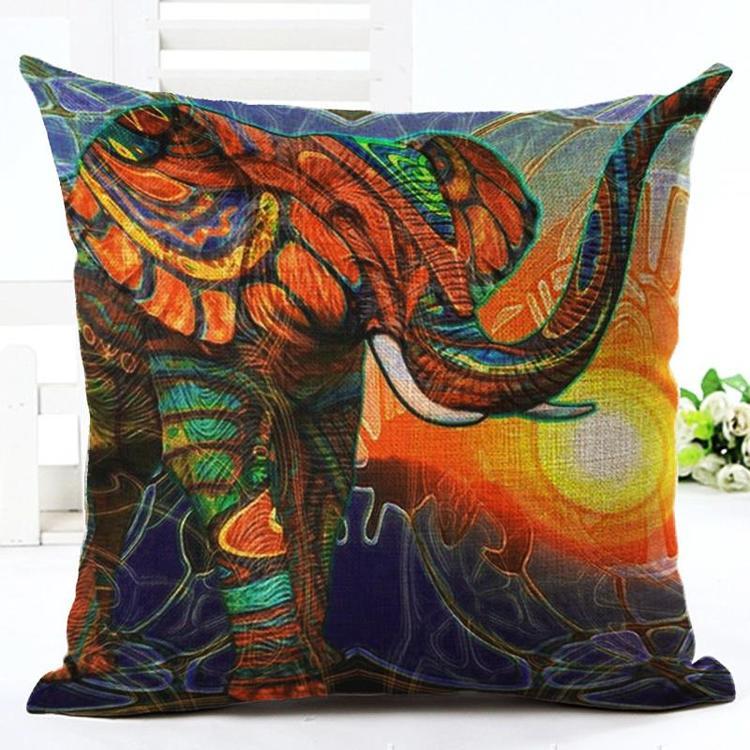 Kuddfodral - Djur - Elefant 1