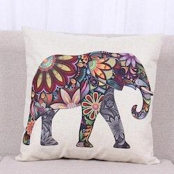 Kuddfodral - Djur - Elefant 3