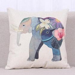 Kuddfodral - Djur - Elefant 4