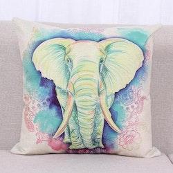 Kuddfodral - Djur - Elefant 5