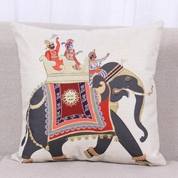 Kuddfodral - Djur - Elefant 6