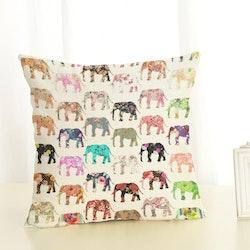 Kuddfodral - Djur - Elefant 7