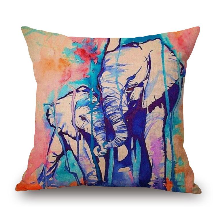 Kuddfodral - Djur - Elefant 8