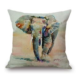 Kuddfodral - Djur - Elefant 9