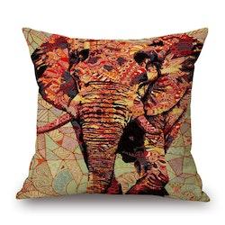 Kuddfodral - Djur - Elefant 10