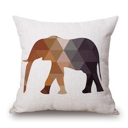 Kuddfodral - Djur - Elefant 11