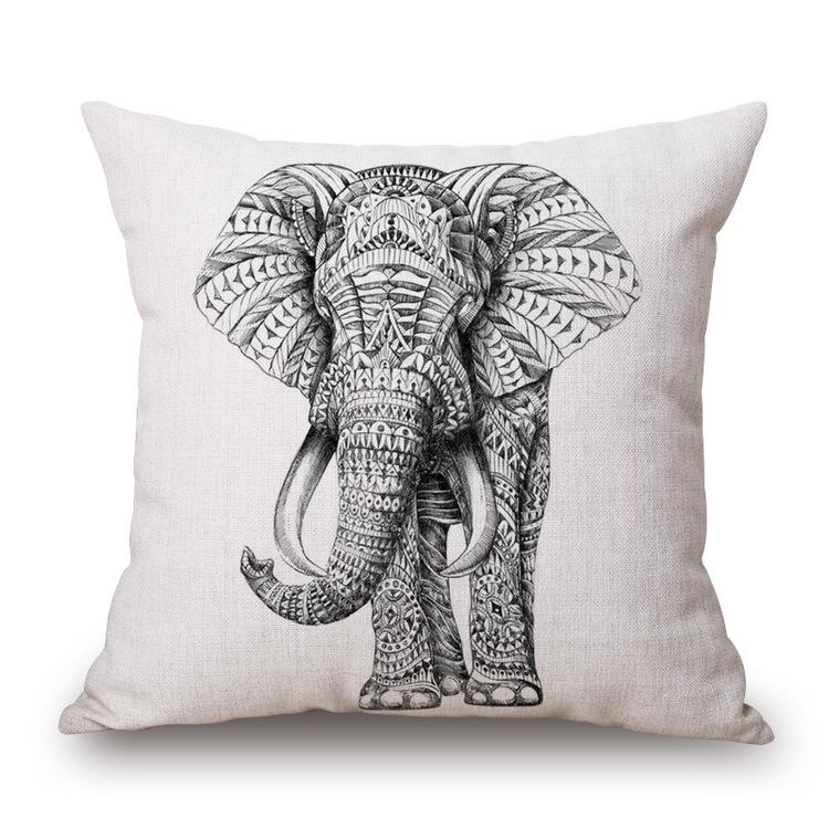 Kuddfodral - Djur - Elefant 14