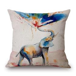 Kuddfodral - Djur - Elefant 15