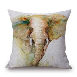 Kuddfodral - Djur - Elefant 18