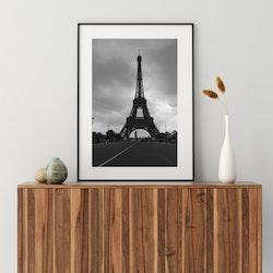 Posters - Eiffeltornet svart/vit
