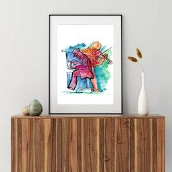 Posters - Abstrakt Jazz