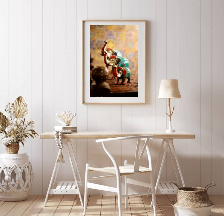 Posters - Elefantskulptur