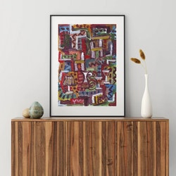Posters - Abstrakt Art No.20