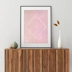 Posters - Minimalism Pink