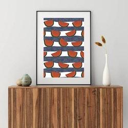Posters - Minimalism Melon