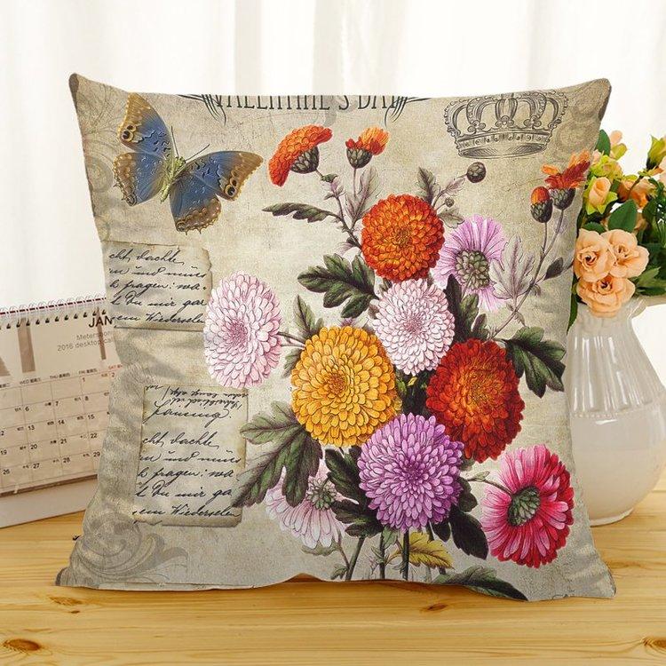 Kuddfodral - Natur - Blommor 207