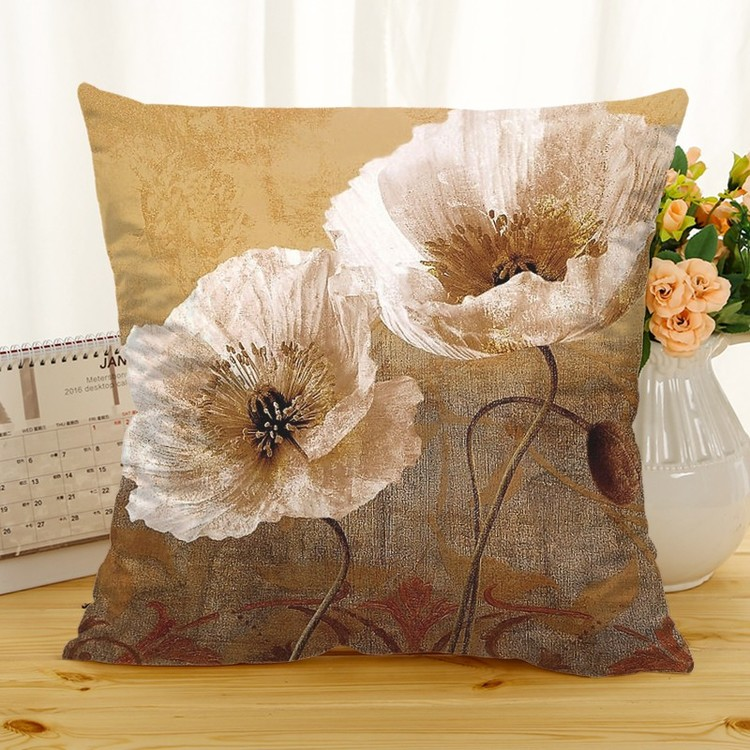 Kuddfodral - Natur - Blommor 246