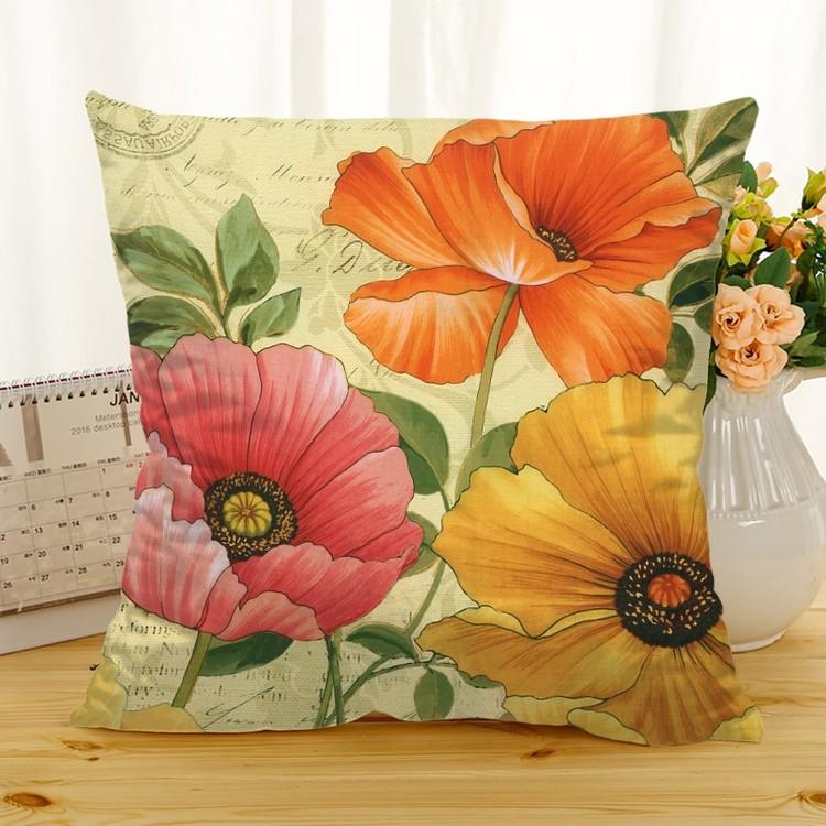 Kuddfodral - Natur - Blommor 249