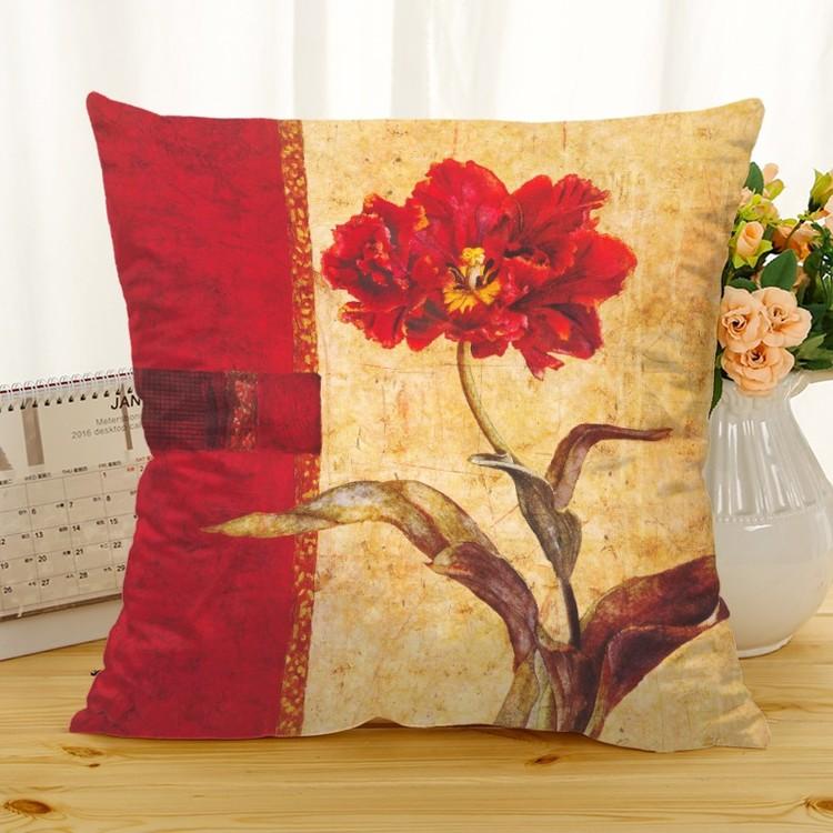 Kuddfodral - Natur - Blommor 263