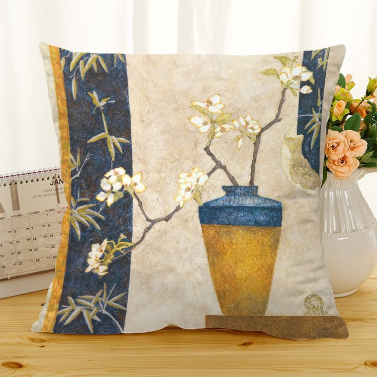 Kuddfodral - Natur - Blommor 334