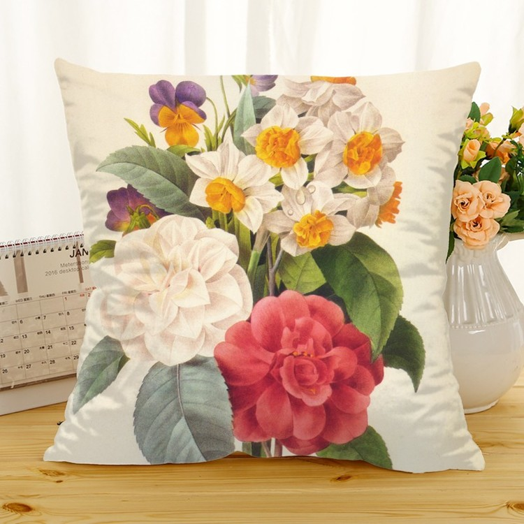 Kuddfodral - Natur - Blommor 177