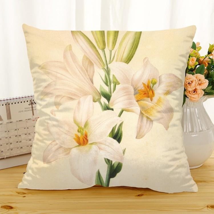 Kuddfodral - Natur - Blommor 179