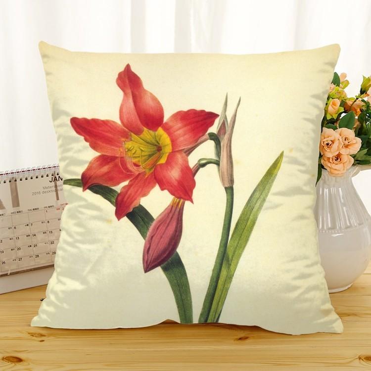 Kuddfodral - Natur - Blommor 182