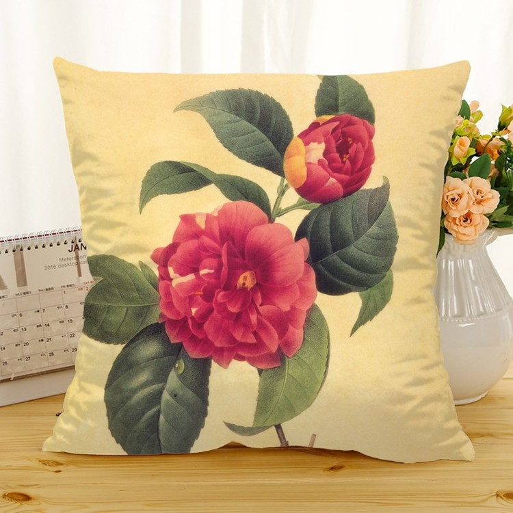 Kuddfodral - Natur - Blommor 190