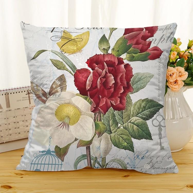 Kuddfodral - Natur - Blommor 201