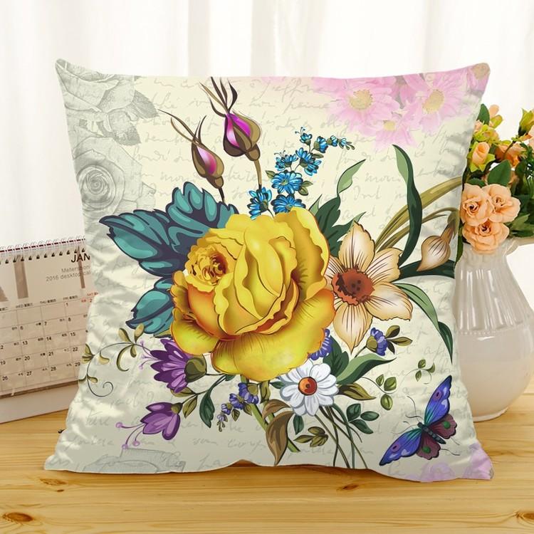 Kuddfodral - Natur - Blommor 202