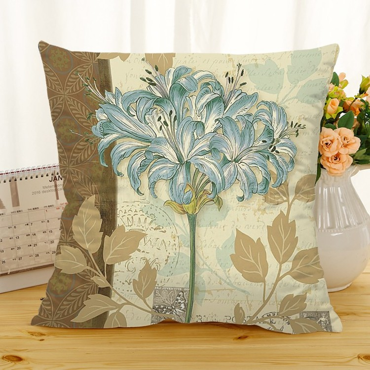 Kuddfodral - Natur - Blommor 213