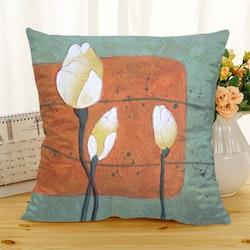 Kuddfodral - Natur - Blommor 216