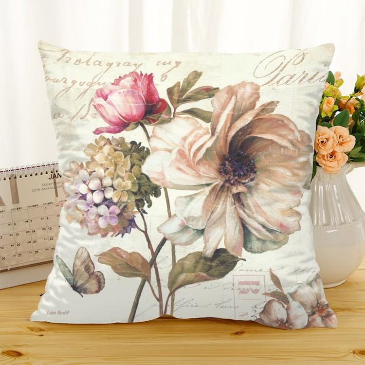 Kuddfodral - Natur - Blommor 227