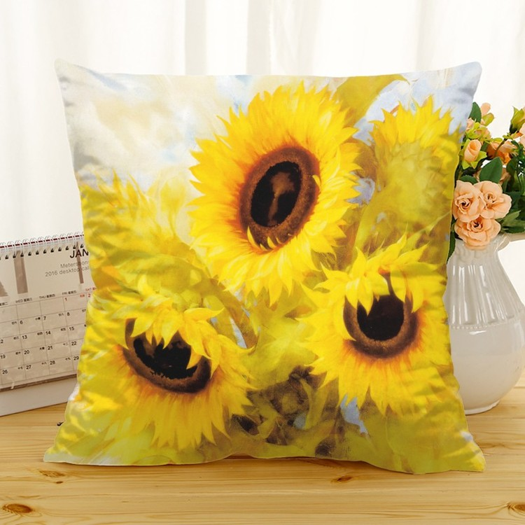 Kuddfodral - Natur - Blommor 256