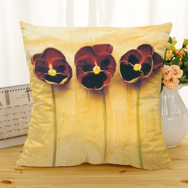 Kuddfodral - Natur - Blommor 259