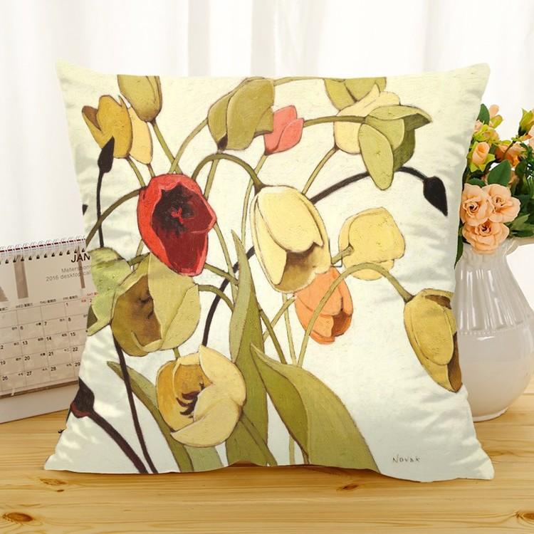 Kuddfodral - Natur - Blommor 277