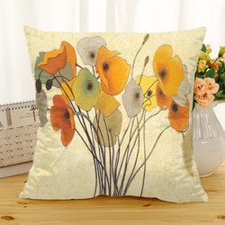 Kuddfodral - Natur - Blommor 278