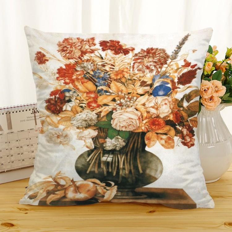 Kuddfodral - Natur - Blommor 293