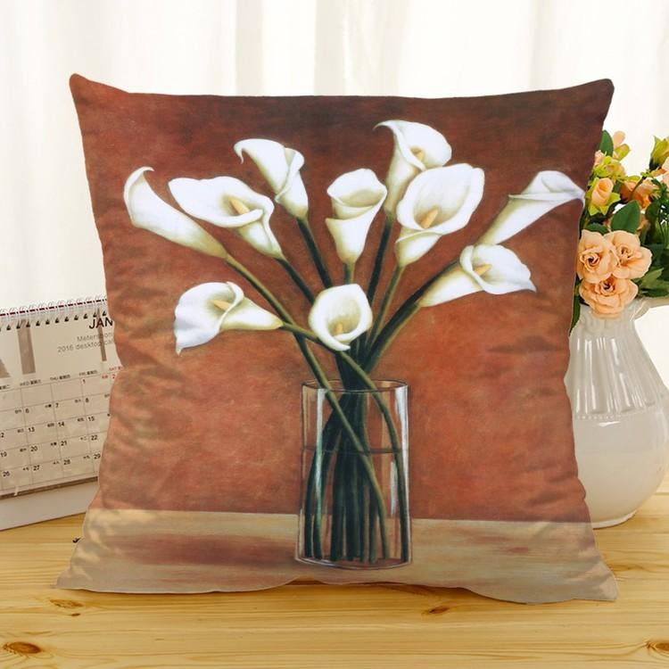 Kuddfodral - Natur - Blommor 320
