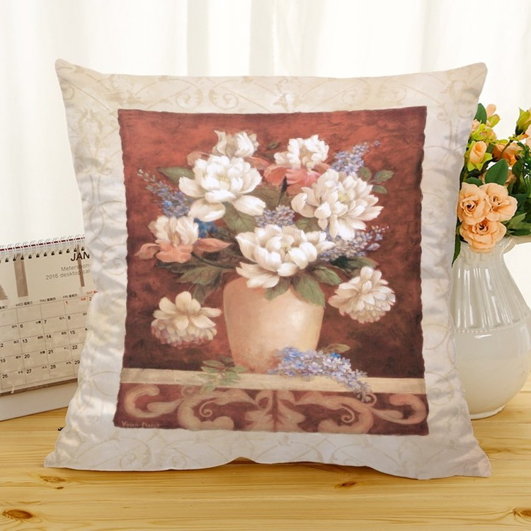 Kuddfodral - Natur - Blommor 321