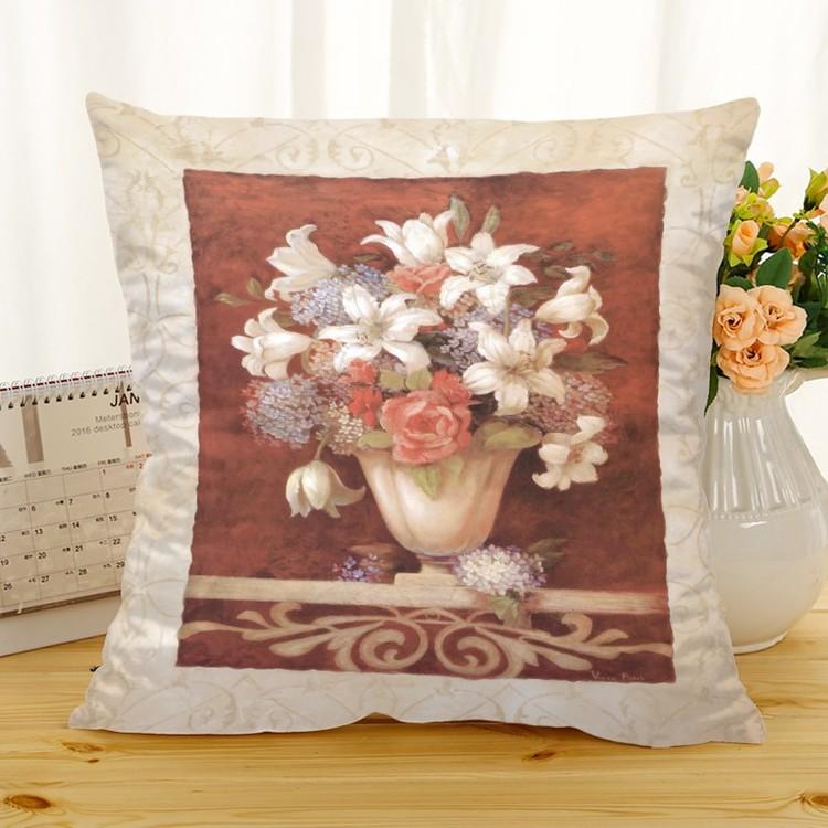 Kuddfodral - Natur - Blommor 322