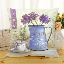 Kuddfodral - Natur - Blommor 339