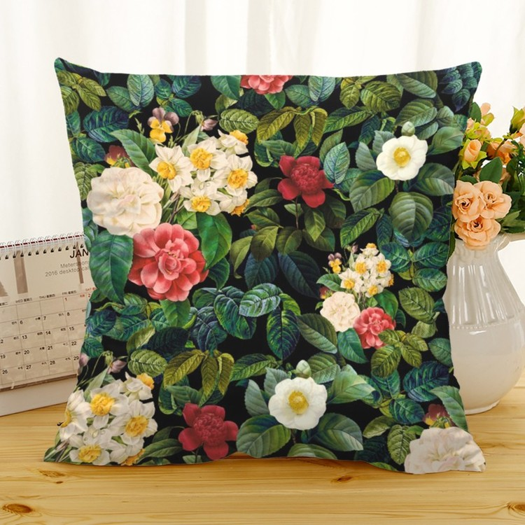 Kuddfodral - Natur - Blommor 368