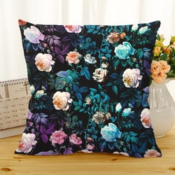 Kuddfodral - Natur - Blommor 369