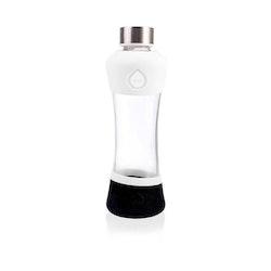 Glasvattenflaska - ACTIVE WHITE 550 ml